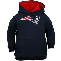 New England Patriots Toddler Logo Pullover Hoodie - Navy Blue