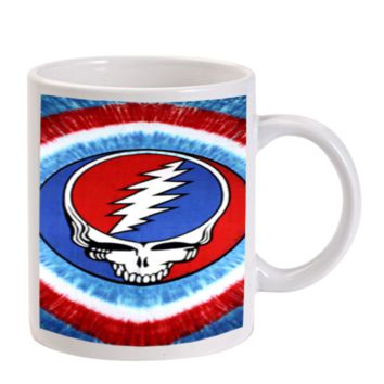 Gift Mugs | The Grateful Dancing Dead Bear Logo Ceramic Coffee Mugs