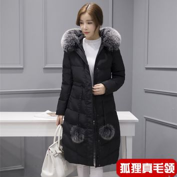 Womens Winter Jackets And Coats Manteau Femme Winter Jacket Women Coat Gooes Down Coats Thickened Long Casaco Feminino #0097