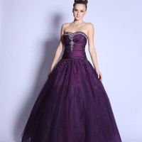 PRIMA Glitz GZ1457 Ball Gown Prom Dress - Quinceanera