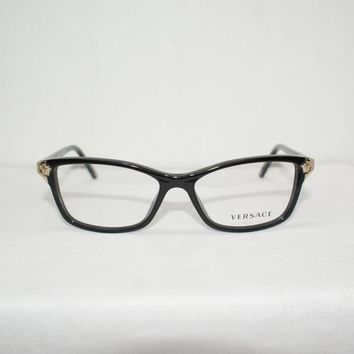 New VERSACE Eyeglasses Mod. 3156 Color GB1 Sz. 53-15-135 W/Original Case!