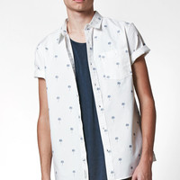 Modern Amusement Palm Trees Short Sleeve Button Up Shirt at PacSun.com