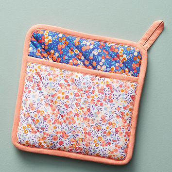 Liberty for Anthropologie Wiltshire Berry Pot Holder