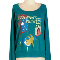 ModCloth Quirky Short Length Long Sleeve Story Timeless Tee