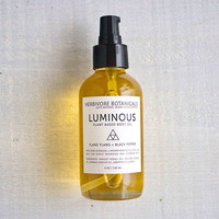 Luminous Plant Based Body Oil. – Herbivore Botanicals