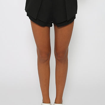 Don't Think Twice Shorts - Black