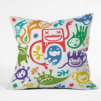 Andi Bird Misfits Throw Pillow