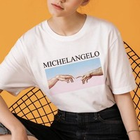 Michelangelo Creation Tee