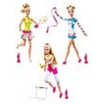 Team Barbie Doll Case