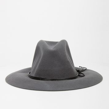 Floppy Fedora Hat - Gray