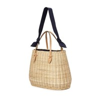PAMELA MUNSON Joan's Carryall Basket Tote Bag