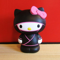 Hello Kitty Ninja Customized Vinyl Toy collectible