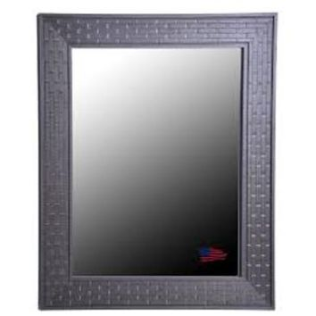 Rayne Mirrors Ava Coffee Crate Wall Mirror