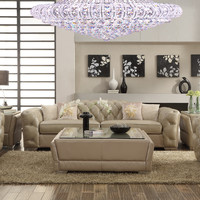 Homey Design HD-1040 Complete Living Room Sofa, Loveseat, Chair & Table Set