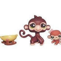 Littlest Pet Shop Cutest Pets Series 2 Figures Mommy Baby Monkeys