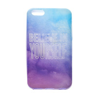 Believe in Yourself Soft Touch Cover for iPhone 5c