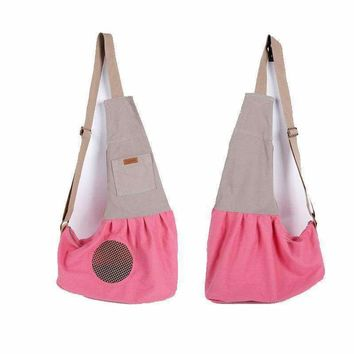 Pyrus - Pet carrier, shoulder bag for dogs, transporting bag with a lot more pocket for puppy of family pet, rabbit or small creatures