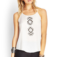 FOREVER 21 Crossback Beaded Cami