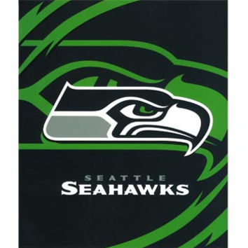 Seattle Seahawks Queen NFL Blanket - Free Shipping in the Continental US!
