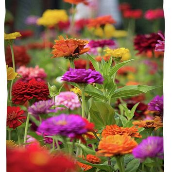 Colorful Garden Duvet Cover