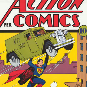 Superman Action Comics #33 Poster 22x34