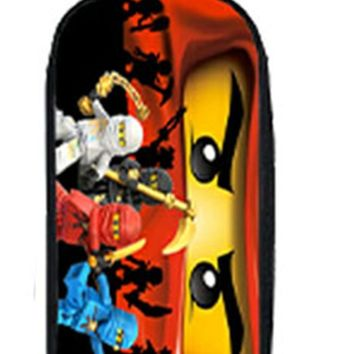 Star Wars Force Episode 1 2 3 4 5 2018 Lego Ninja Batman  Boy Girl Cartoon Pencil Case Bag School Pouches Children Student Pen Bag Kids Purse Wallet Gift AT_72_6