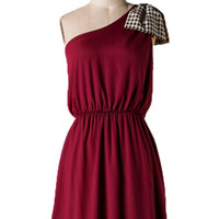 Houndstooth Darling Game Day Dress