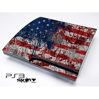Vintage American Flag Skin for the Playstation 3