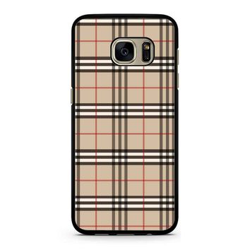 Burberry 2 Samsung Galaxy S7 Case