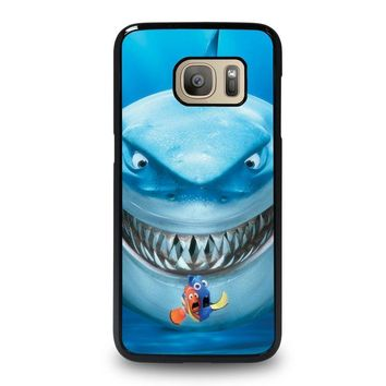 finding nemo fish disney samsung galaxy s7 case cover  number 1