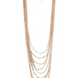FOREVER 21 Heavy Metal Statement Chain Gold One