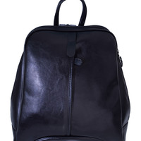 Vintage Inspired Mini Backpack - Black