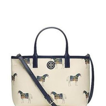 Tory Burch Equidae Horse Kerrington Crossbody Tote