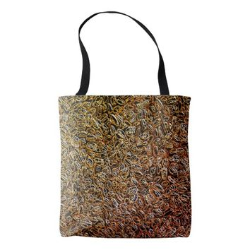 Colorful Abstract Patterns Tote Bag