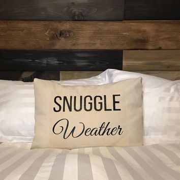 Snuggle Weather Pillow