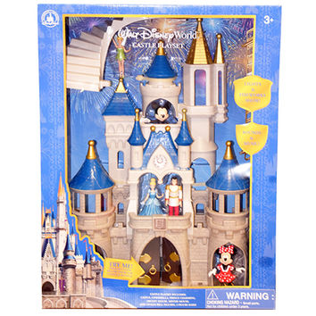 Disney Parks Mickey & Friends Cinderella Castle Play Set New Edition New w Box