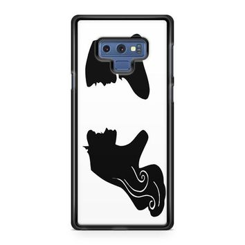 Handcut Paper Silhouettes Of Princess Samsung Galaxy Note 9 Case | Casefruits