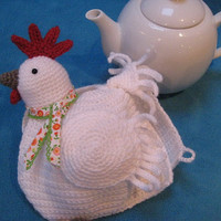 Crochet Pattern Chicken Teacosy Tea Cozy PDF