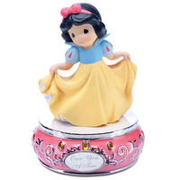 Disney ''Once Upon a Time'' Musical Snow White Figurine by Precious Moments | Disney Store