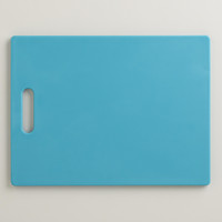 Aqua Cutting Board - World Market