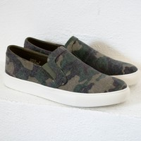 Jungle Camo Slip On Shoes
