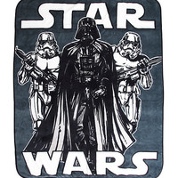 Star Wars Dark Side Super Plush Throw