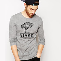 Winter Is Coming Theory T Shirt This Is My Spot Games Of Thrones Men Shirts Winter Is Coming Tees O Neck Man Clothing