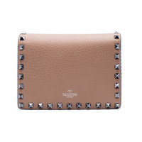 Valentino Women's Rockstud Nude Leather Chain Mini Shoulder Bag