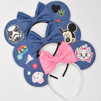 Denim Mouse Ears by House of Mouse