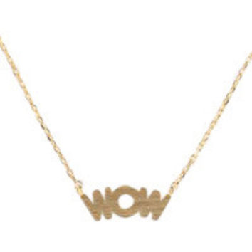 WOW Necklace