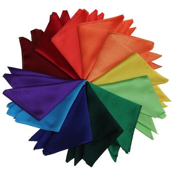 Formal Pocket Handkerchiefs in over 60 Solid Colors