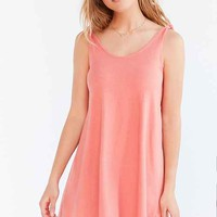 Truly Madly Deeply Shoulder Tie Knit Mini Dress