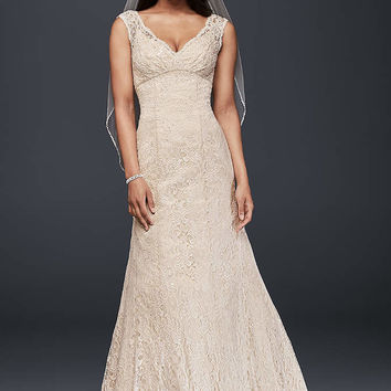 Lace Wedding Dress with Sweetheart Neckline - Davids Bridal