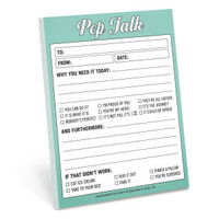 Knock Knock Pep Talk Nifty Note - Official Shop